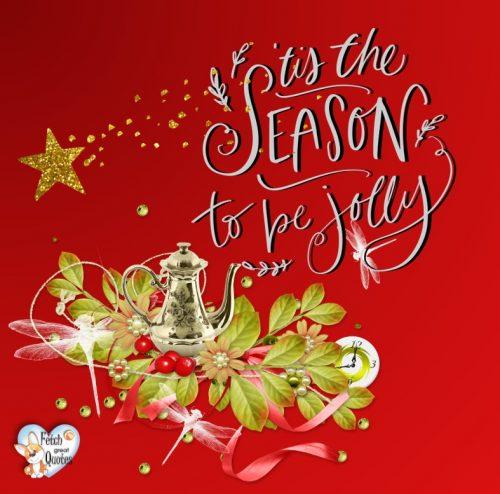 Cute Seasons greeting photo, Holiday season photo, red Christmas photo