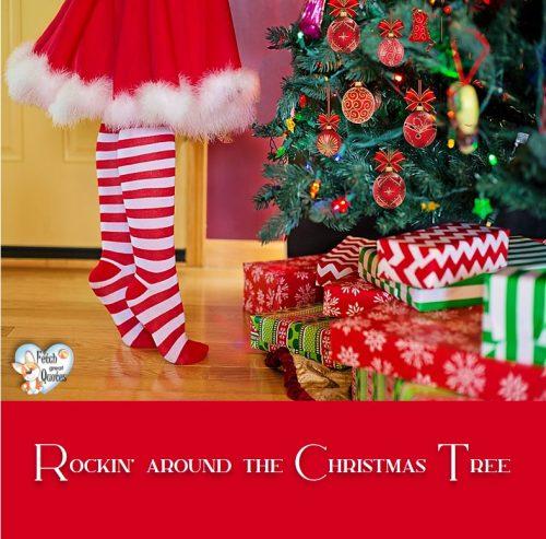 Rockin around the Christmas Tree, Christmas Tree, Winter holiday photo