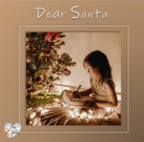 Clean design Christmas photo, Letter to Santa photo, Dear Santa photo, Christmas season photo