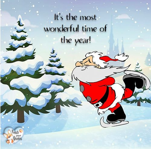 Santa Clause photo, It's the most wonderful time of the year, Christmas season photo