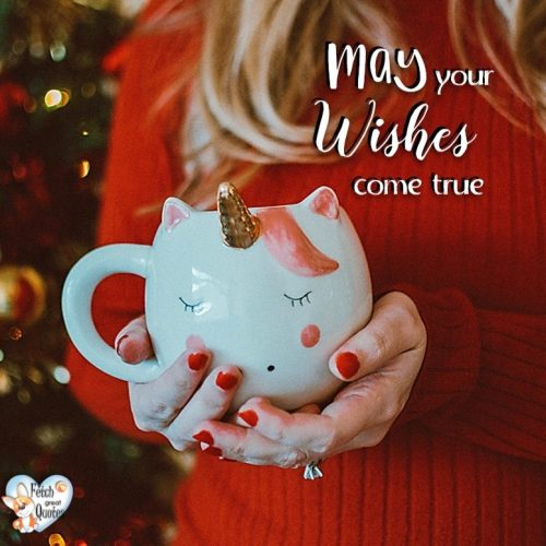 Red Christmas wish photo, Christmas Season photo, May your wishes come true.