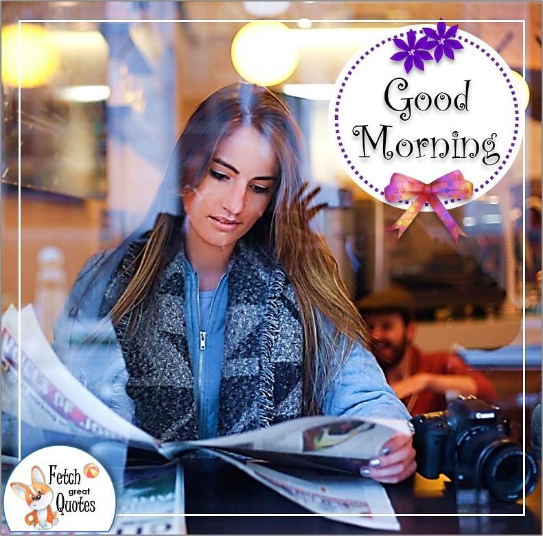 girl in the window, coffee shop girl, good morning photo