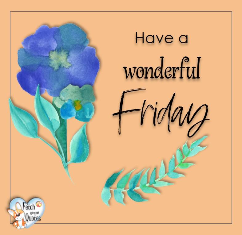 Free Friday Quotes, Happy Friday Photos, Friday photos, Fun Friday quotes, fun Friday photos, Have a wonderful Friday