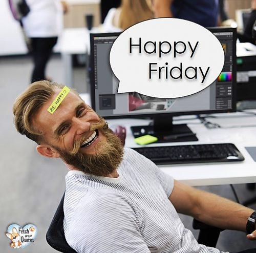 Funny Happy Friday photo