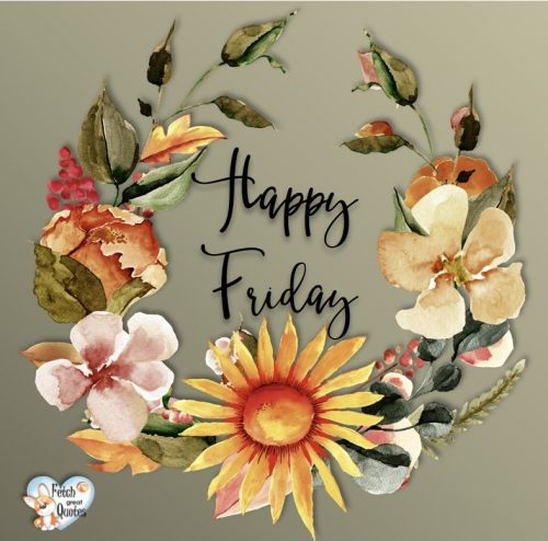 pretty Happy Friday photo
