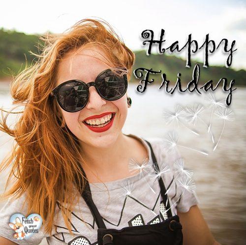 Uplifting Happy Friday photo