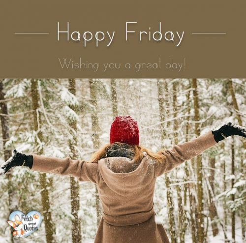 Snow Happy Friday photo