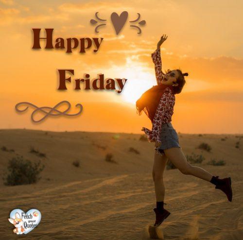 Jump for joy Happy Friday photo