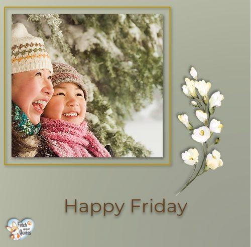 Asian Happy Friday photo