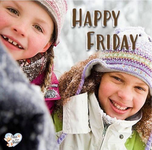 winter Happy Friday photo