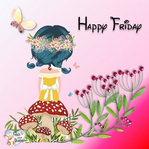 cute happy Friday photo for Facebook