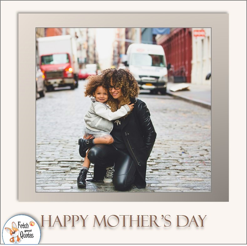 Happy Mother's day, biracial mom and daughter, black mom and child, Happy Mother's day photo