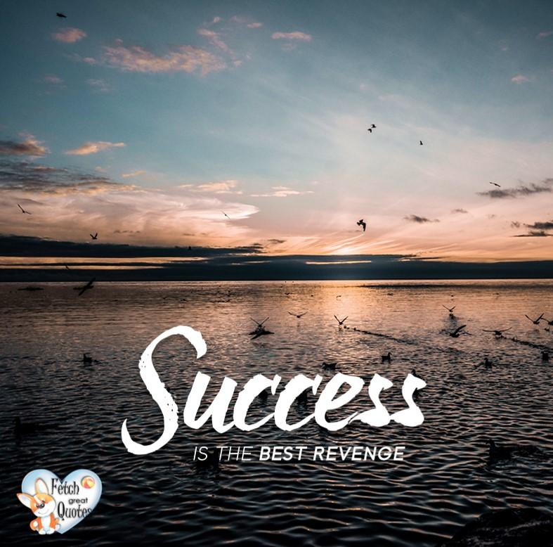 Success is the best revenge., Inspirational Quotes, motivational quotes, inspirational photo quotes, inspirational photos, motivational photo quotes, success, success quotes, success photos, wildlife photos