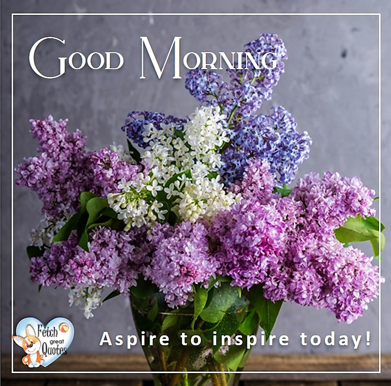 Spring Good Morning photo, Free Good Morning photo, Flower Photo, lilacs, purple flowers,spring flowers